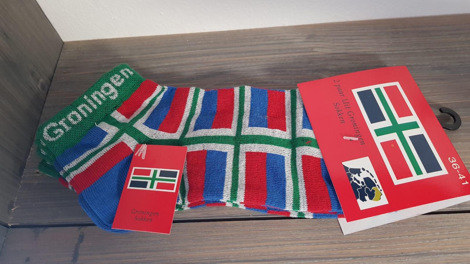cbff8a54402 Groninger sokken met kleine vlaggetjes diverse maten – Aristo Promotions